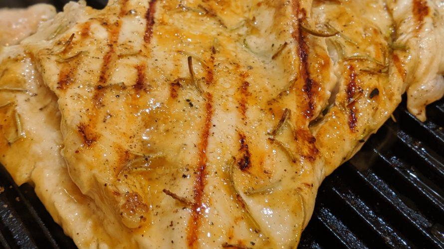 岩鋳のオイルプレートグリルで野菜は甘く、お肉はジューシーに焼けました